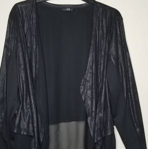 Cover up/ light black jacket